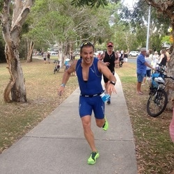 Running Coach Noosa Triathalon Client