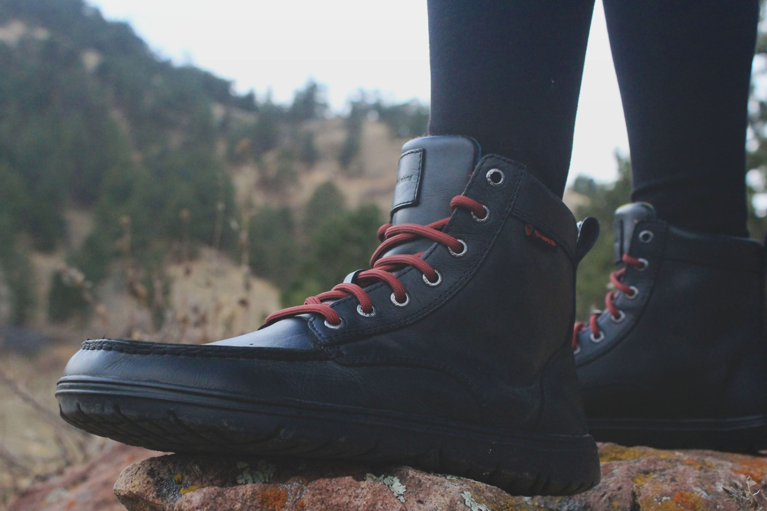 401d1b1340b Lems Boulder Boot (Unisex) - LEATHER in RAVEN